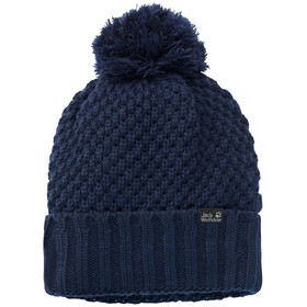 Jack Wolfskin Highloft Knit Cap Women midnight blue